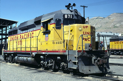 UP GP30 871. Salt Lake City, September 1987. (Warren Johnson Photo)
