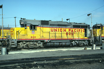 UP GP30 800. Salt Lake City, April 1984. (Don Strack Photo)