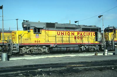 UP GP30 800. Salt Lake City, April 1984. (Don Strack Photo)