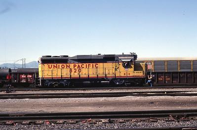 UP GP30 820. Salt Lake City, August 1983. (Don Strack Photo)