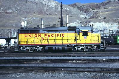 UP GP30 871. Salt Lake City, October 1987. (Don Strack Photo)