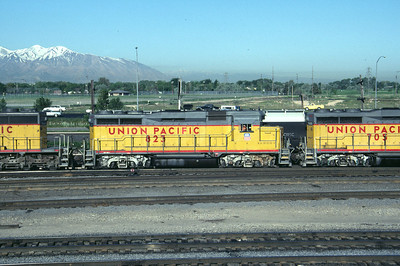 UP GP30 823. Salt Lake City, May 1984. (Don Strack Photo)