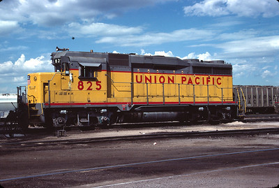 UP GP30 825. Salt Lake City, September 1983. (Don Strack Photo)