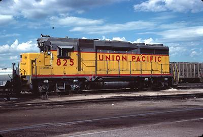 UP GP30 825. Salt Lake City, September 1983. (Don Strack Photo)