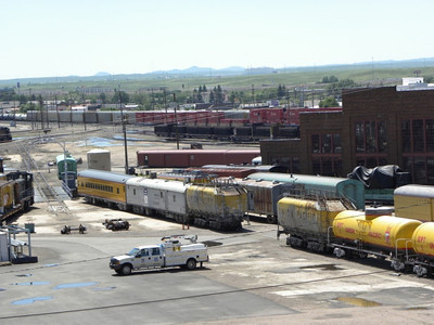 UP 903028 and 903029, upon arrival at Cheyenne in June 2009