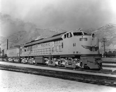 UP no. 61, Salt Lake City. (Union Pacific Photo)
