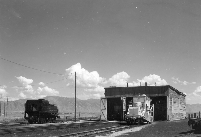Cache Junction roundhouse