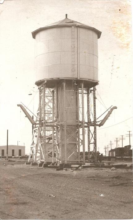 Milford water tank. & UP In Utah - donstrack
