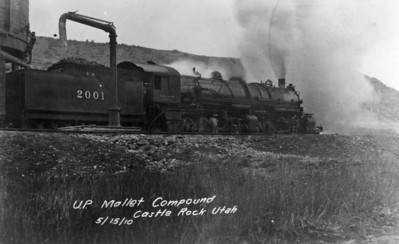UP Mallet Compound, Castle Rock, Utah. (Union Pacific Historical Collection)