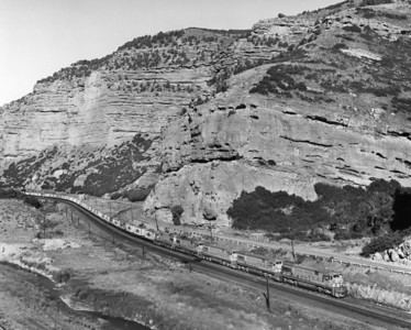 Echo Canyon, July 1973. (Union Pacific Historical Collection)