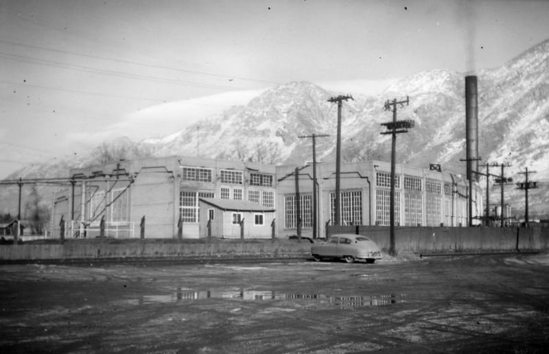 Provo roundhouse, 1958. (Dave England Photo)