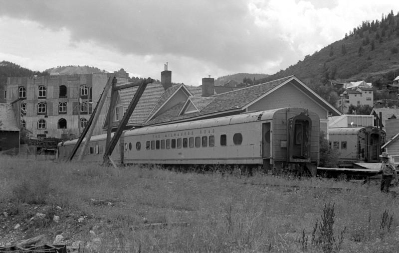 UP Park City depot, August 1982. (Don Strack Photo)