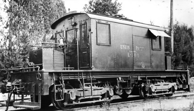 LA&SL Electric Locomotive E-100