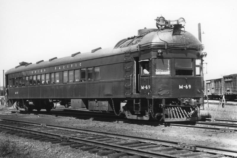 OSL Brill Car M-69. Marysville, Kansas. September 19, 1949. (Bob Andrews Photo)