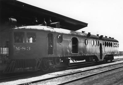 OWRR&N McKeen car M-83.