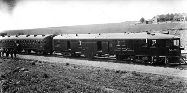 UP M-23 and trailer 499