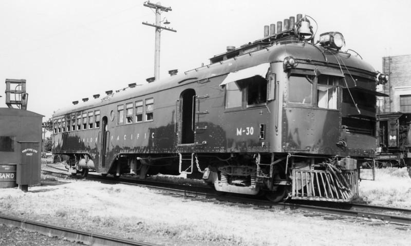 UP M-30. Junction City, Kansas. July 3, 1949.