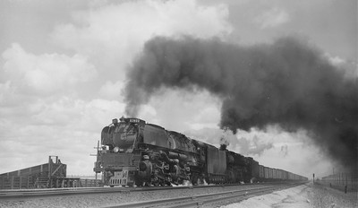 UP_4-6-6-4_3977-with-train_Otto-Wyo_May-18-1952_R-H-Kindig-photo
