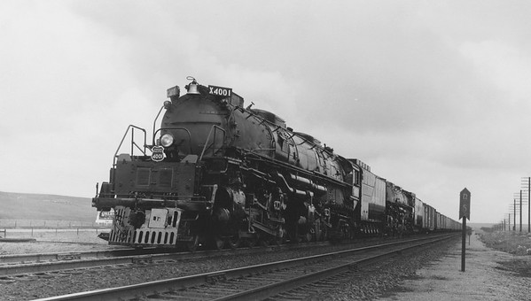 UP_4-8-8-4_4001-with-train_Borie-Wyo_June-26-1952_R-H-Kindig-photo