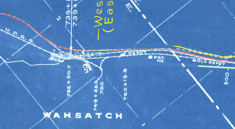 Wahsatch Tunnel and Wye
