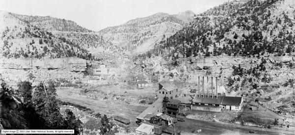 Spring Canyon, 1925. (Shipler Photo)