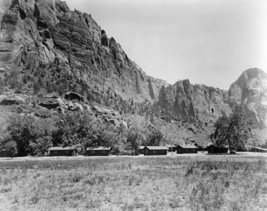 Utah Parks Co., Zion Cabins. (Union Pacific Historical Collection)