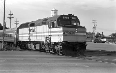 Amtrak 225, Salt Lake City. (Don Strack Photo)