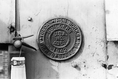 Chicago Bridge & Iron No. 180, Salt Lake City, 1972. (Don Strack Photo)