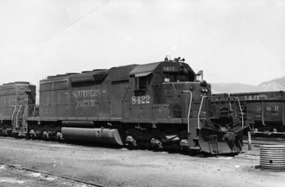 SP SD40 8422, Roper, June 1969. (Don Strack Photo)