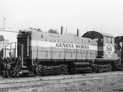 Geneva Steel 1189, Des Moines, Iowa, 1987. (Ken Ardinger Collection)