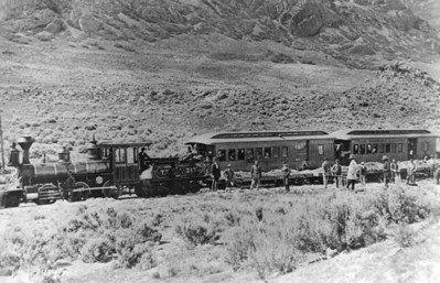 """Utah Western """"Edward Hunter"""". (Union Pacific Historical Collection)"""