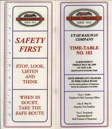 Timetable 102 (1999)