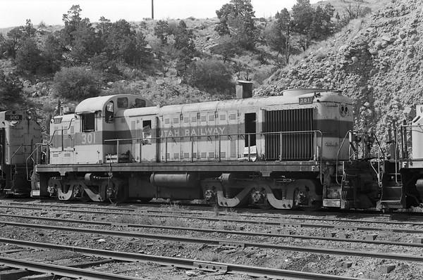 Utah Railway, September 1982
