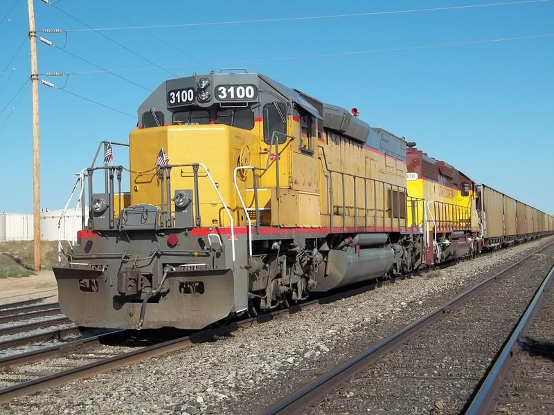 Utah Southern SD40T-2 3100. September 12, 2011. (Robert Lehmuth Photo)