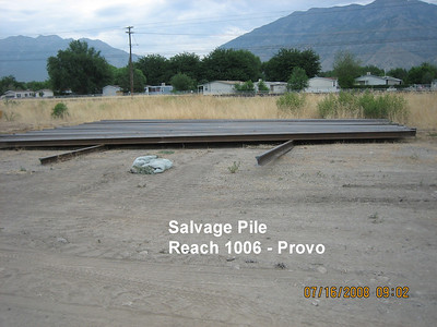 2008-07jul-16_Reach-1006_Salvage_Pile_Provo