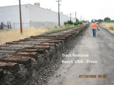 2008-07jul-16_Reach-1006_Track Removal_Provo