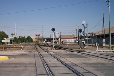 200 South crossing, before FrontRunner