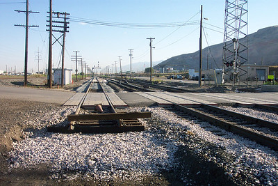 New UP track at 1700 North crossing, looking north