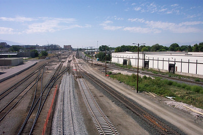 Looking south, from 600 North viaduct