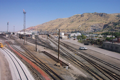 Looking north, from 600 North viaduct