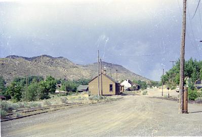 D&RGW at Eureka, Utah. (Vic Oberhansley Photo)