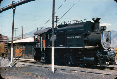 SP 0-6-0T 569, Ogden, June 5, 1956. (Vic Oberhansley Photo)