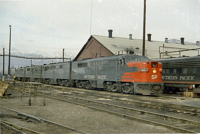 SP Alco PA 6012, Ogden, February 11, 1961. (Vic Oberhansley Photo)