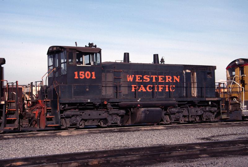 WP SW1500 1501. Salt Lake City. May 1, 1984. (Don Strack Photo)