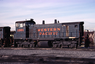 WP SW1500 1501. Salt Lake City. May 1, 1984. (Don Strack Photo)