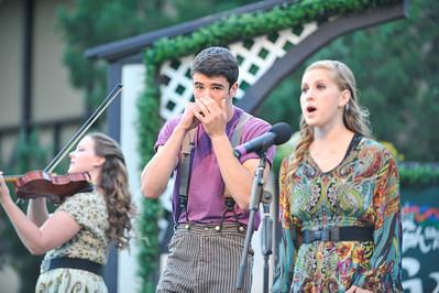 The Irish Greenshow at the Utah Shakespeare Festival. Aug. 28, 2015. Photo by Ian Billings