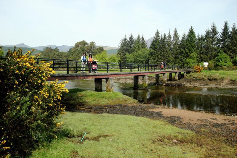 Híd a golfpályán