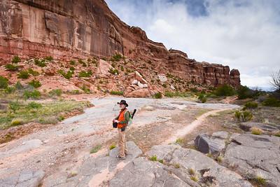 Dan in Ute Canyon