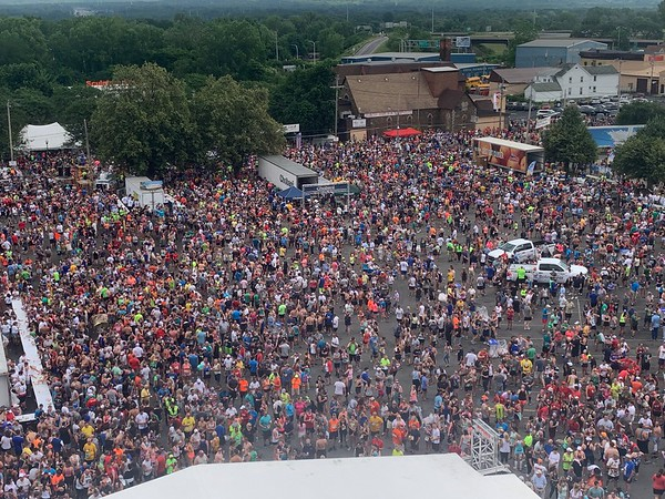 A bird's eye view of the 2019 Boilermaker