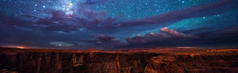 Horseshoe Bend Under the Stars, Page, Arizona
